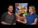 Emily Blunt, James McAvoy talk animation, gnomes