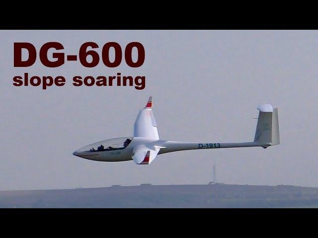 DG-600, scale RC glider, slope soaring, 2017