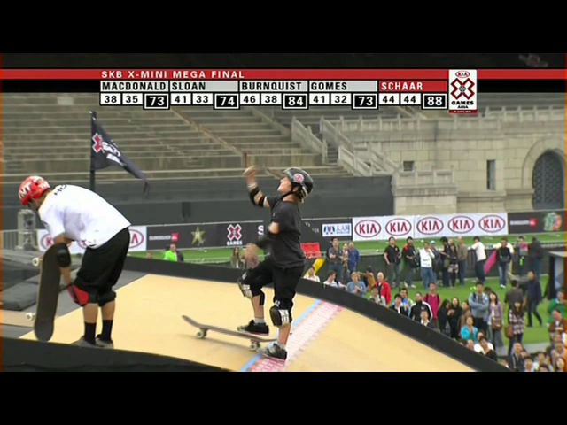 Tom Schaar first-ever 1080 in Competition - ESPN X Games
