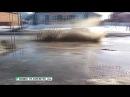 Виновата весна обзор самых глубоких луж в Бийске Будни 20 03 18г Бийское телевидение