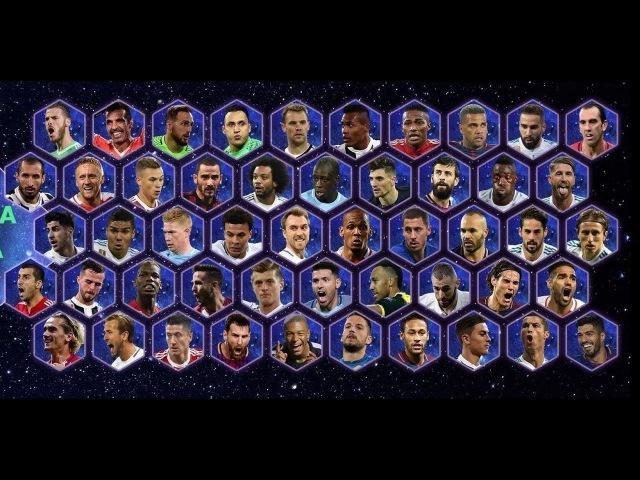 Лучшие бомбардиры 2017 года | Europe's top scorer in 2017