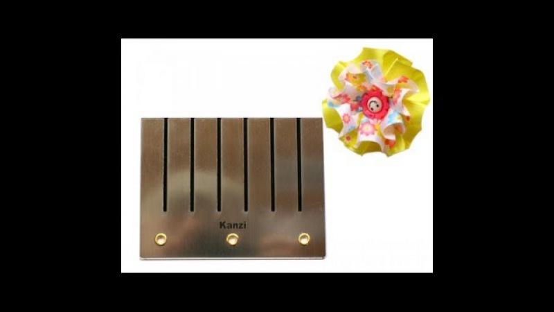 Шаблон для цветочка в складочку Казаши смотреть онлайн без регистрации