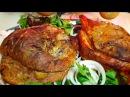Рулька свиная запечёная в духовке в рукаве цыганка готовит Gipsy cuisine