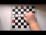 Три дамки против дамки и простой на a3
