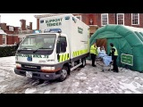 Mitsubishi Fuso Canter Ambulance UK spec FE5 1993 2002