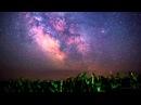 Красивое ночное небо в высоком качестве 4K (Ultra HD)