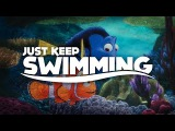 Just Keep Swimming Finding Nemo RemixMashup