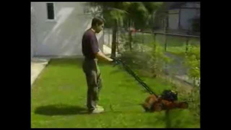 Стрижка газонной травы