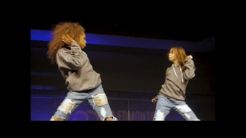 KynTay live performance at Edmonton world of dance WOD Taylor Hatala Kyndall Harris