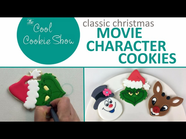 Classic Christmas Movie Character Cookies