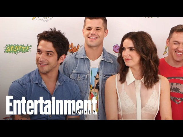 Teen Wolf: Shelley Hennig, Tyler Posey Tease Multiple Nude Scenes   SDCC 2017   Entertainment Weekly