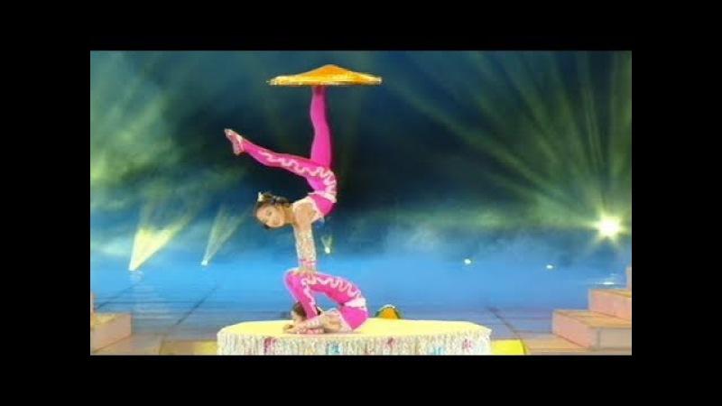 杂技 《对手转毯》 (1995) Pair Spinning Carpets (Acrobatics)