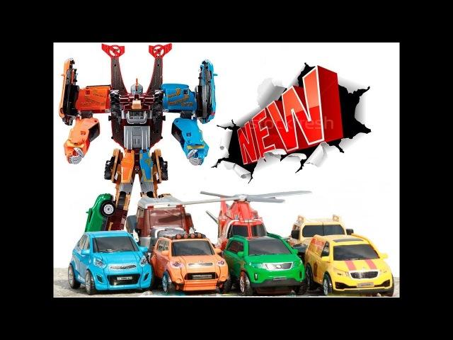 Тобот Гига 7 - Робот трансформер TOBOT Giga Seven 7 Игрушки Мультики про Машинки для Детей MrGeor