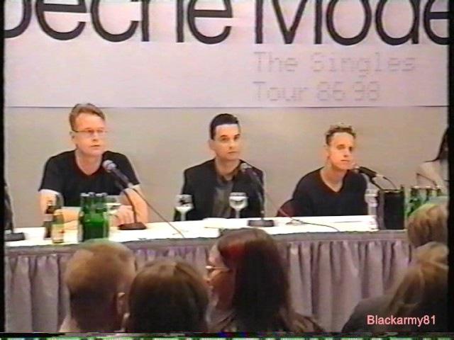 Depeche Mode - Press Conference 1997