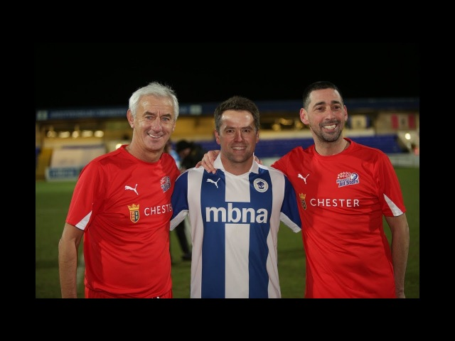 CFCTV Chester Select XI 4 1 Colin Murray's All Stars The Highlights