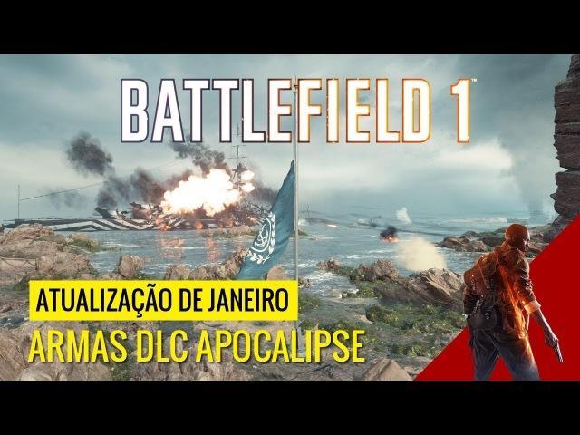 DATA DE LANÇAMENTO PATCH DE JANEIRO NOVIDADES ARMAS DLC APOCALIPSE