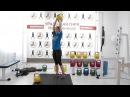 Упражнения для ног: выпады с гирями/Ксения Дедюхина eghfytybz lkz yju: dsgfls c ubhzvb/rctybz ltl.[byf
