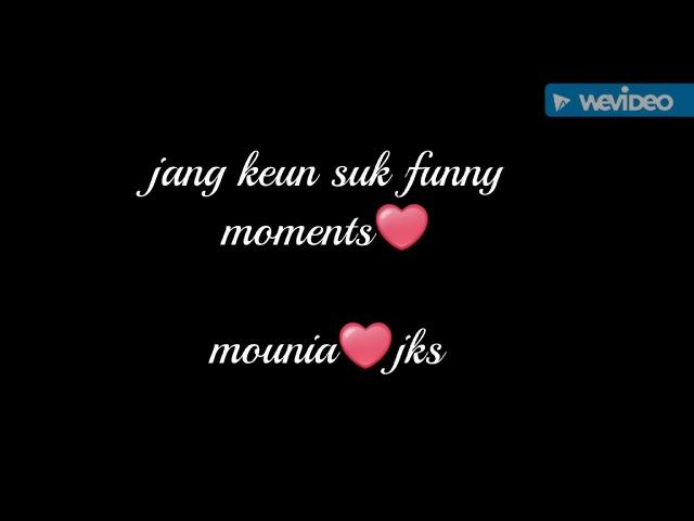 My prince asia Jang keun suk❤ funny moments