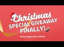 Christmas Speical Giveaway Finally! Merry Christmas from Zhiyun Tech