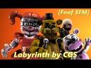 Fnaf SFM Labyrinth by CG5 FNAF 6 Song