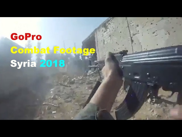 Syria GoPro Combat Footage FSA In Heavy Combat With SAA In Harasta 02 01 2018