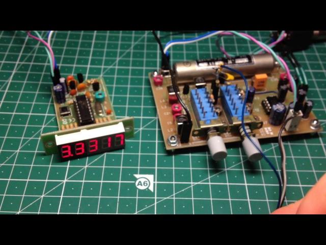 Электронная настройка в приёмнике на двухзатворных полевых транзисторах