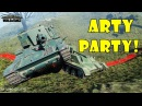 World of Tanks Funny Moments ARTY PARTY 48
