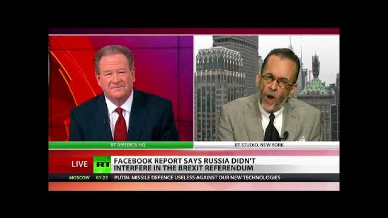 Facebook Conforms Yet Again the Obvious: 'No evidence linking Brexit campaign to Russia' — Lionel