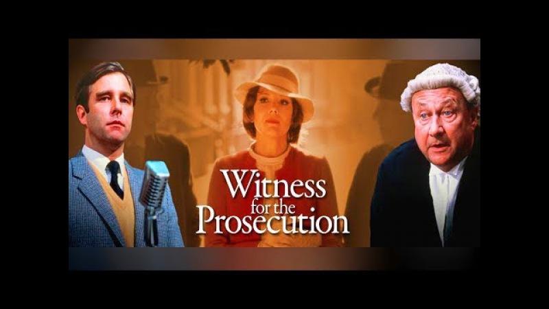 Свидетель обвинения Детктив по роману А Кристи Знаменитый адвокат спасает Леонарда от виселицы