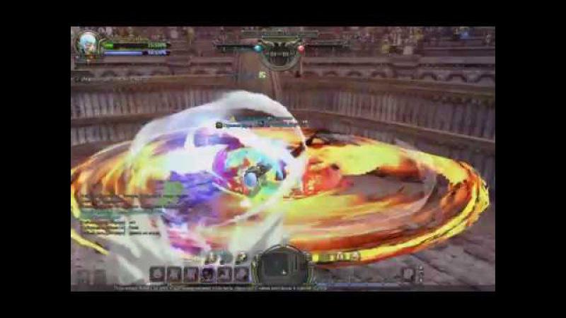 Чепуховна (Wind Walker) vs. Вэнос (Dark Avenger)/ PVP турнир