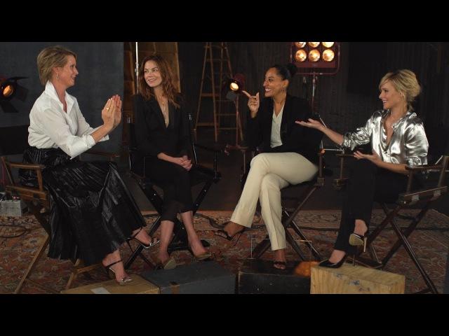 Cynthia Nixon, Tracee Ellis Ross, Kristen Bell Michelle Monaghan Debate Women In TV