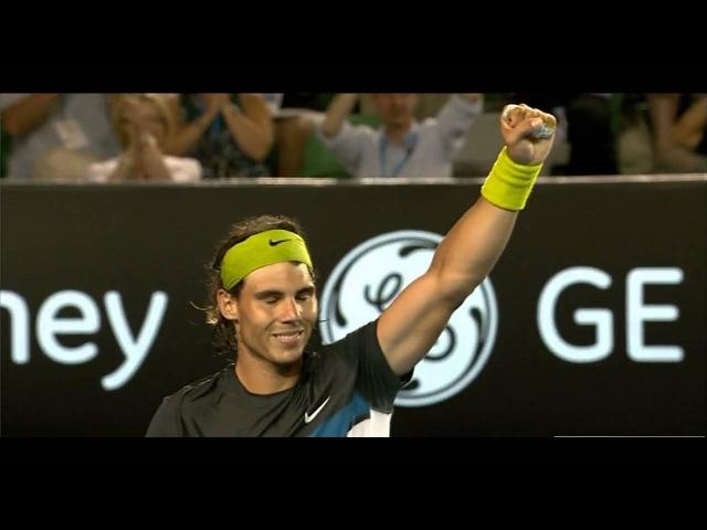 Australian Open 2009 Final Rafael Nadal vs Roger Federer 720HD