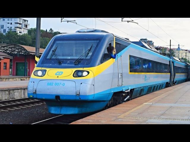 Vlaky Praha hlavní nádraží ● 22.09.2017