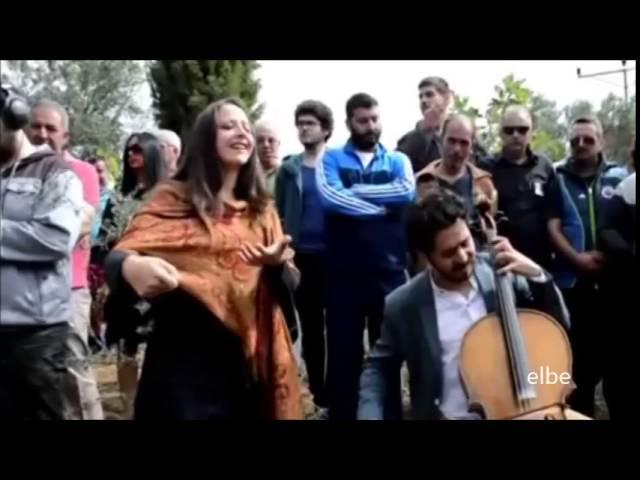 Kenan Imirzalioglu,Cansu Dere, Halit Ergenc and others at Memory of Tuncel Kurtiz