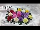 МК Розочки, бутончики, листочки из Фоамирана. Цветы для украшений и скрап работ.