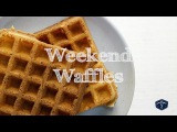 Easiest Tasty Weekend Waffles Recipe Ever! Le Gourmet TV Recipes
