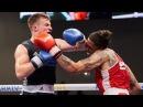 EUBC-2017 MustWatch! Sean LAZZERINI (SCOTLAND) vs CAMACHO FERNANDEZ (ESP) DoubleKnockDown War