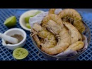 Grilled Yamba prawns with salty lime and fennel Australian cuisine