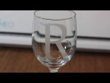 How To Glass Etching with your Silhouette Cameo