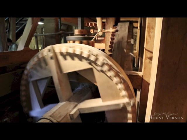 George Washington's Gristmill at Mount Vernon