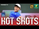 Hot Shot: Nishioka Turns Tables On Stan At Indian Wells 2017