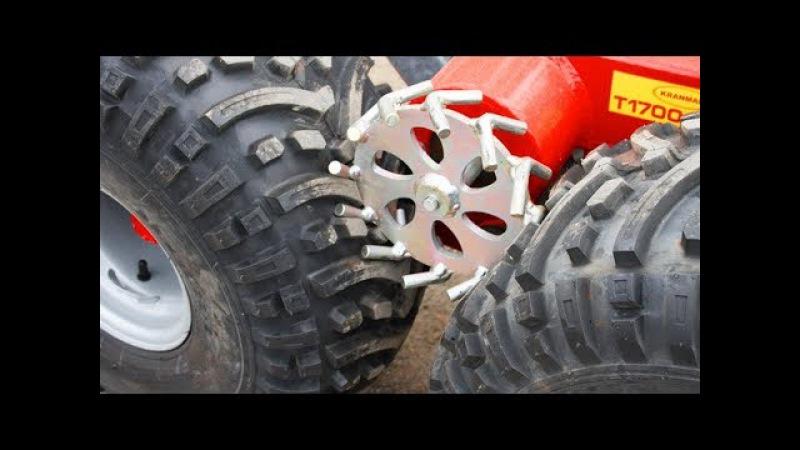 Умные и мощные вездеходы для валки леса   ATV