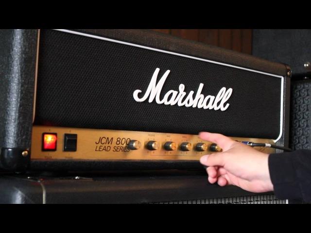 Friedman Modded Marshall JCM800 RI