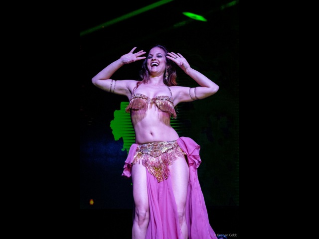 Vintage Belly Dance by Alia - Dance of the Moon - Ruby Revue