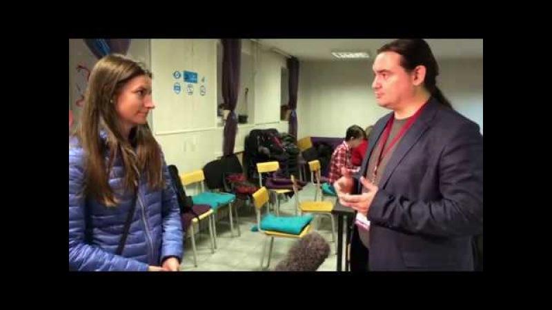 Интервью НТВ с пресс-центра «Наблюдателей Петербурга»