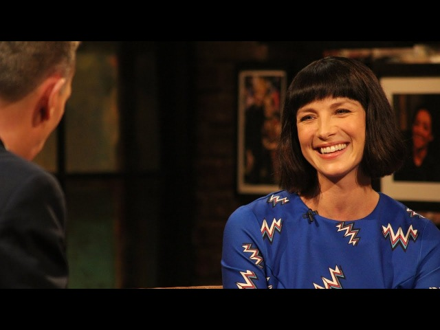 He was like 'who ordered the giraffe' - Caitriona Balfe   The Late Late Show   RTÉ One