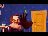 ПРИВЕТ СОСЕД #1 СЕКРЕТНАЯ КОМНАТА СОСЕДА ОТКРЫТА  веселая игра от странного соседа канал CFG TV