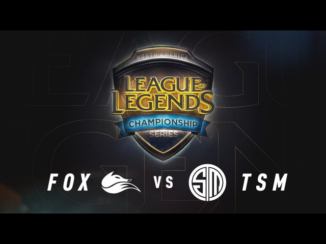 FOX vs. TSM - Week 7 Game 3 | NA LCS Summer Split | Echo Fox vs. TSM (2017)