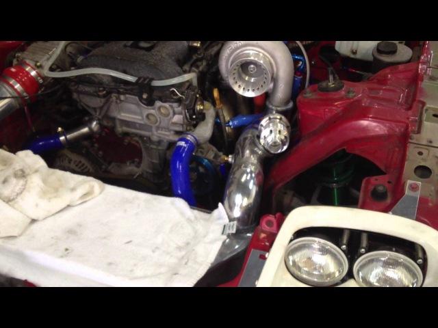 Mazda RX7 FD x Nissan SR20DET engine startup