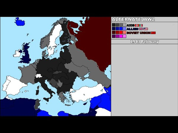 World War II Alternate Every Day (Axis Victory) (2ND VERSION)